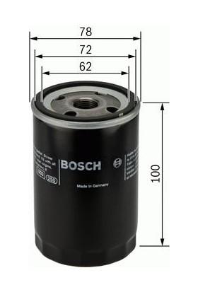 Bosch Fiat Brava 1.6 16V Yağ Filtresi 1995-2003