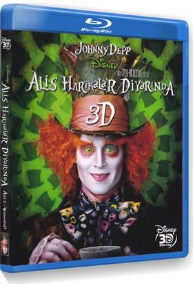 Alice İn Wonderland (Alis Harikalar Diyarında) (3D Blu-Ray Disc) Tek Disk