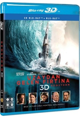 Geostorm-Uzaydan Gelen Fırtına (3D Bluray + 2D Blu-Ray)