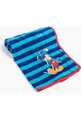 Disney Mickey Mouse Bebek Kadife Battaniye 8881