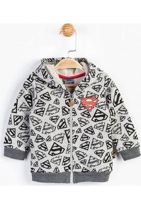 Superman Bebek Fermuarlı Sweat 12219