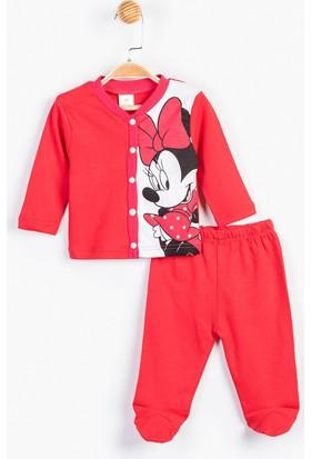 Disney Minnie Mouse Bebek Patikli Takım 12308