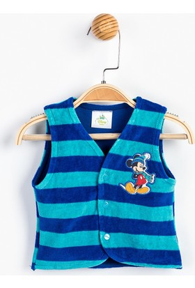Mickey Mouse MC8877 Bebek Kadife Yelek