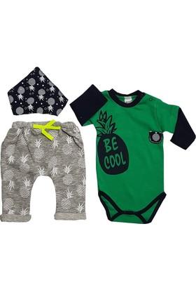 Jikko Be Cool 3'lü Bebek Zıbın Takım