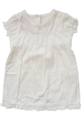 Bebepan Bebek Kısa Kol Pamuk Penye Kız Elbise