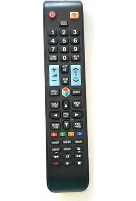 Muke Samsung RM-D1078 Universal 3d-Led Tv Uyumlu Kumanda