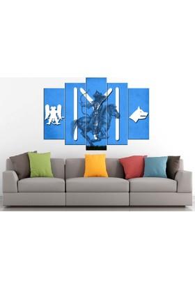 Sibiro Okçu Mavi 70 x 100 cm Azykayı