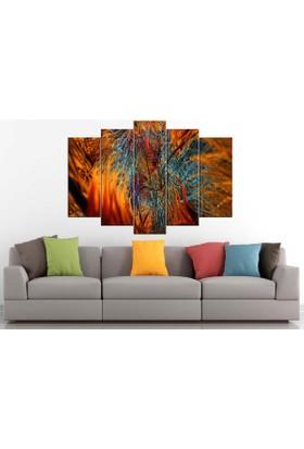 Sibiro Dekoratif MDF Tablo Fraktal Renkler 70 x 100 cm Azypn18
