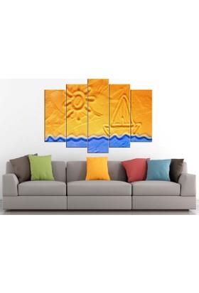 Sibiro Deniz Konsept MDF Tablo 70 x 100 cm Azytn37