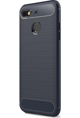 KNY General Mobile GM8 Go Kılıf Ultra Korumalı Room Silikon + Cam Ekran Koruyucu
