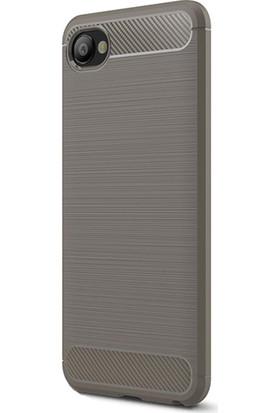KNY HTC Desire 12 Kılıf Ultra Korumalı Room Silikon + Cam Ekran Koruyucu