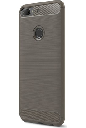 KNY HTC Desire 12 Plus Kılıf Ultra Korumalı Room Silikon + Nano Cam Koruyucu