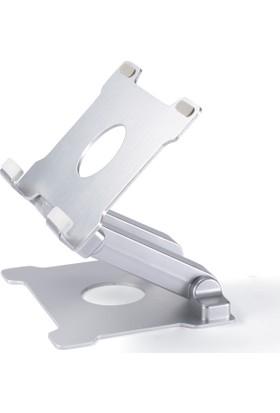 """iDock T27 Evrensel Katlanabilir Alüminyum 6-13"""" Tablet ve PC Tutucu Stand"""