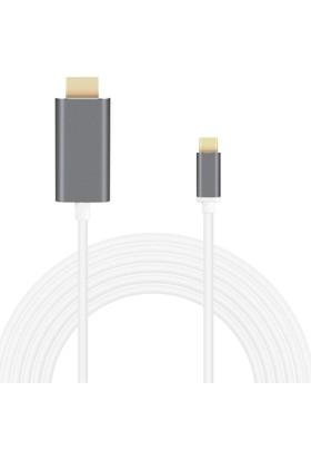 Case 4U USB-C / Type-C 3.1 to Hdmi USB Kablosu