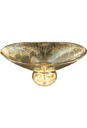 Lucky Art Altın Varak Süslemeli Gondol