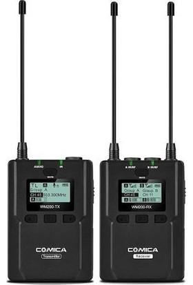 Comica CVM-WM200C 96 Kanal Ful Metal UHF Professional Mikrofon