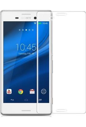 Kapakevi Sony Xpreia M4 Aqua 9H Temperli Cam Ekran Koruyucu