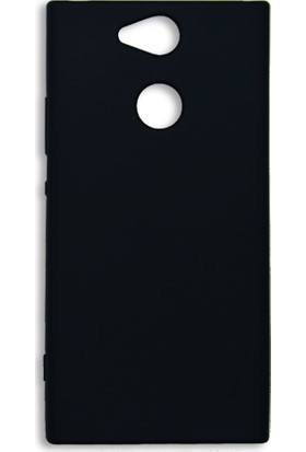 Kapakevi Sony Xperia XA2 Premium Slim Fit Silikon Kılıf Siyah