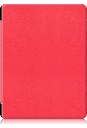 Kobo Aura H2O 6.8 İnç Edition 2 E-Kitap Okuyucu Kılıfı Kırmızı