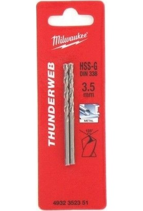 Milwaukee Thunderweb Dın338 Matkap Ucu 1X34Mm 2 Adet