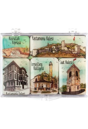 City Collection Kastamonu Mini Magnet Seti