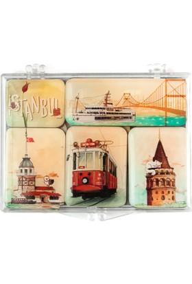 City Collection İstanbul Mini Magnet Seti