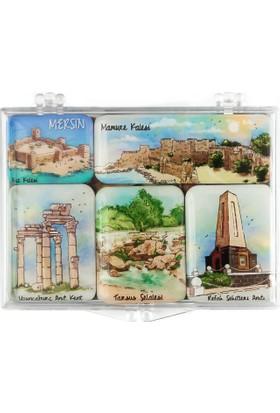 City Collection Mersin Mini Magnet Seti