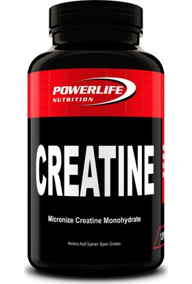 Powerlife Creatine 120 Kapsül Ve 2 Adet 25 Ml L Karnitin Shot