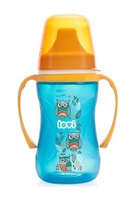 Lovi Folky Serisi Damlatmaz Alıştırma Bardağı 12 Ay+ 250 ml