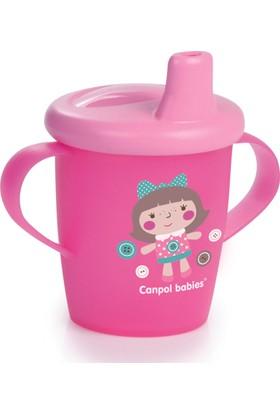 Canpol Babies Toys Collection BPA'sız Damlatmaz Alıştırma Bardağı Pembe Bebek 9 Ay+ 250 ml