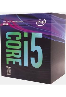 Intel Core i5 8600 Soket 1151 3.1GHz 9MB Cache İşlemci