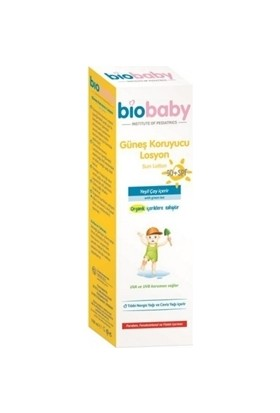 Biobaby Güneş Koruyucu Losyon 50 SPF 100 ml
