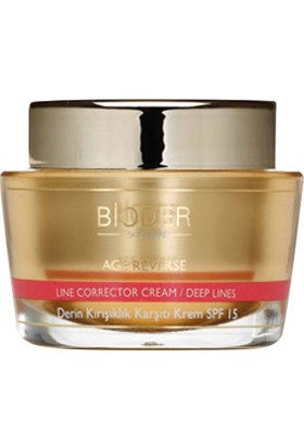 Bioder Age Reverse Deep Wrinkle Corrective Cream Dry Normal Skin Spf15 50ml
