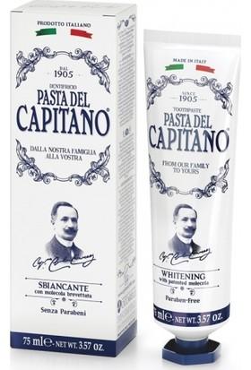 Capitano Beyazlatıcı Diş Macunu 75ml Özel Seri