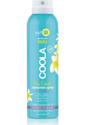 Coola Body Sunscreen Spray Spf30 Pina Colado 236ml