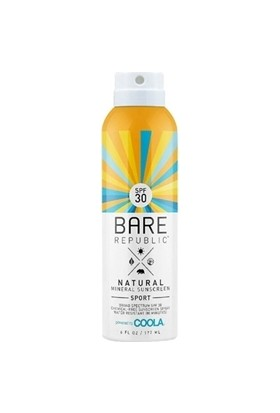 Coola Bare Republic Spf30 Mineral Sunscreen Sport Spray 177ml