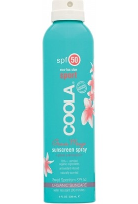 Coola Sport Sunscreen Spray Spf50 Guava Mango 236ml