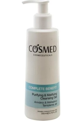 Cosmed Benefit Arındırıcı & Matlaştırıcı Temizleme Jeli 200ml