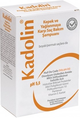 Kadolin Kepek ve Yağlanmaya Karşı Saç Bakım Şampuanı 150ml