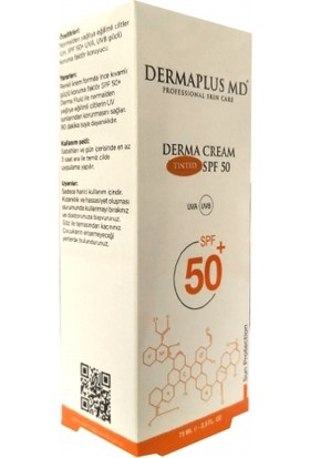 Dermaplus MD Derma Cream Tinted SPF50+ 75ml