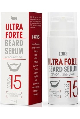 Eeose Ultra Forte Actives 15 Sakal Serumu 2x75ml SET