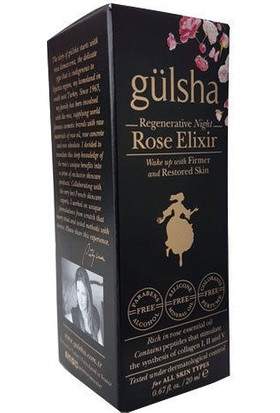 Gülsha Night Rose Elixir 20ml