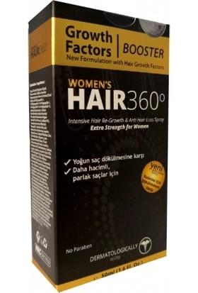 Hair 360 Booster Womens Hair Spray 50ml - Kadınlar için Saç Spreyi