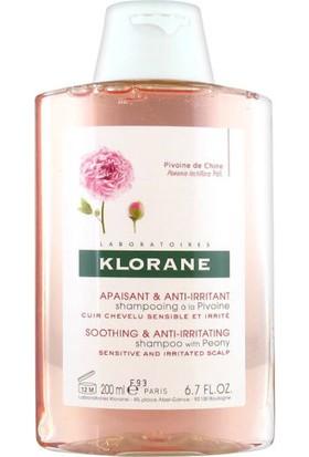 Klorane Pivoine Şakayık Ekstresi İçeren Yatıştırıcı Şampuan 200ml