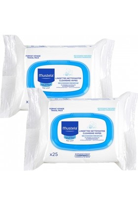 Mustela Facial Cleansing Cloths 2x25 Adet