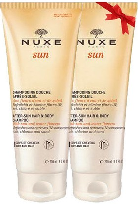 Nuxe Sun After Sun Hair Body Şampuan 200ml - İkincisi %50 İndirimli