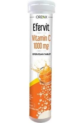 Orzax Efervit Vitamin C 1000mg 20 Tablet