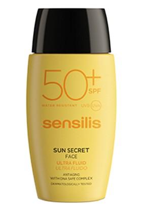 Sensilis Sun Secret Protective & Anti Aging Fluid Face Cream 40mL