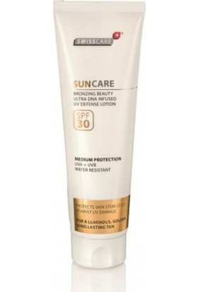Swisscare SunCare Bronzing Beauty Defense Lotion SPF30 150ml