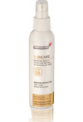 Swisscare SunCare Bronzing Beauty Defense Oil Sprey SPF30 150ml